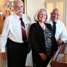 Buddy Apfel, Diana Perez and John Pelegrino