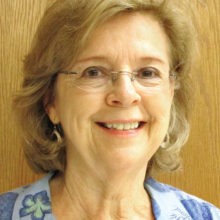 Mary Sievert, Director of the new Bell Choir at Sun Lakes United Methodist Church.