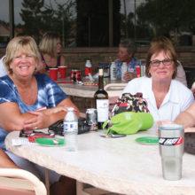Cottonwood ladies enjoying the Cottonwood Country Club!