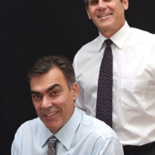 Dr. Kent Saba and Dr. Robert Romanin
