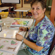 Featured artist this month is Joyce Weary.