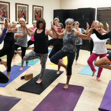 Join us for Vinyasa yoga!
