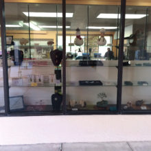 Displays and creating at the Cottonwood shop