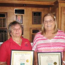 2016 summer hotties (l to r) Linda Liberti and Susan Schaeffer.