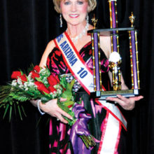 Mrs. Senior Arizona 2010 winner Maddy Paschal will provide musical entertainment during the annual Nebraska State Dinner/Dance beginning at 5:30 p.m. February 25 at the Cottonwood Country Club ballroom.