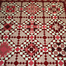 Stitched by members of Agave Quilters Guild from donated fabrics and pattern, this raffle quilt is an opportunity to own a beautiful heirloom.