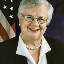 Speaker Mary E. Kramer, former Iowa State Senator and President of the Senate and former U.S. Ambassador to Barbados and the Eastern Caribbean