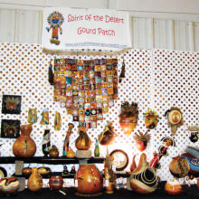 The Spirit of the Desert gourd patch will again have a triple booth at the 14th Annual Running of the Gourd Festival in Casa Grande on February 10, 11 and 12.