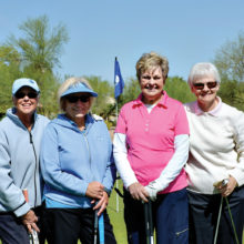 OLNGA members and guests enjoy golf and fun