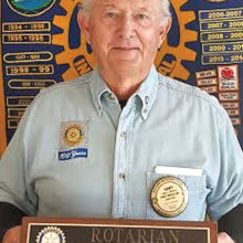 Gary Whiting, February Rotarian of the Month