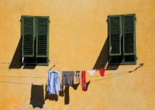 Laundry Day Shadows by John Thoma