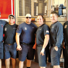 Firefighters from the Sun Lakes Fire District