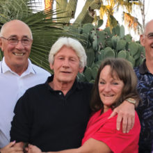 Left to right: Vice President Carole and Dick Schmidt, President Dave and Stephanie Higgins, Secretary-Treasurer Fred and Linda Smith