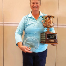 OLGA Cup Champion Shirley Weaver