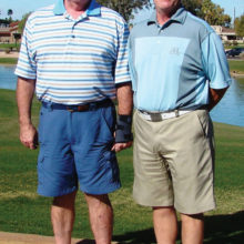 Mark Higgs Gross Champion and Jim Werlinger Net Champion