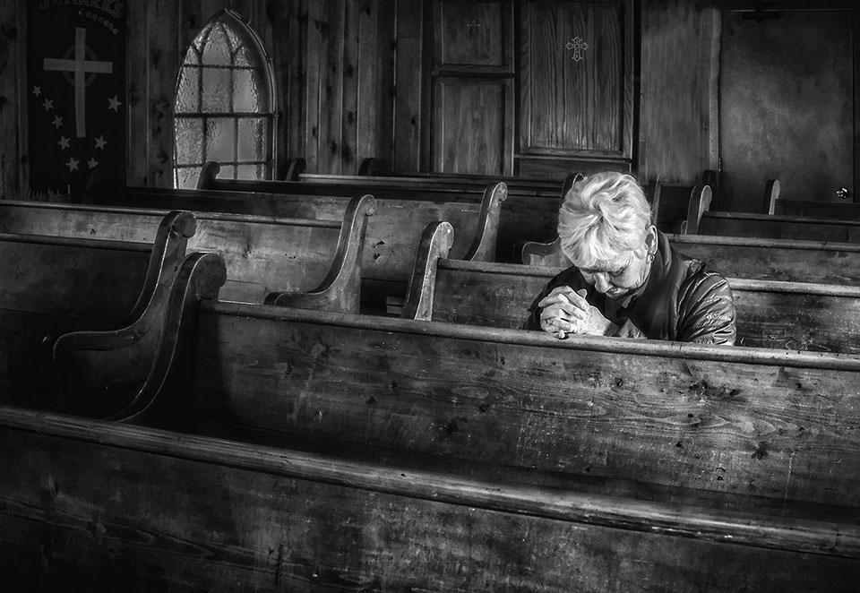 Deep in Prayer by Janet Ballard