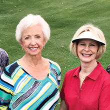 Pictured (left to right) are Bob and Judy Royer and Kathy and Gregg Heinemann.