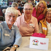 Front nine winners were June Yates, Paula Neuser, Rayleen Knight and Lorraine Brammer.