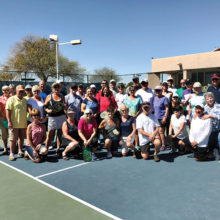 Just a sample: Pickleball players, fans and spectators and volunteers - a great group!
