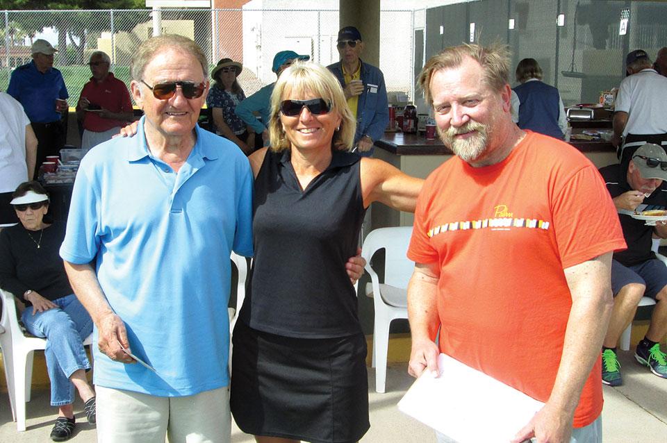 Sun Lakes Tennis Club's annual Hot Dog Tournament
