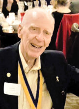 Rotarian Wayne Johnson