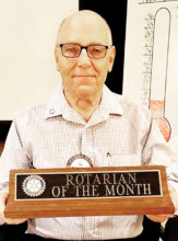 May Rotarian of the Month Hal Wochholz