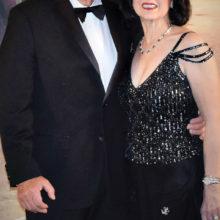 Nunzio and Serafina Cusumano arriving at the secret basement entrance to the ballroom