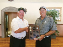 Handover of Oakwood/Cottonwood Traveling Trophy