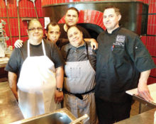 Executive Chef Liliana Rodriguez and staff