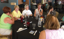Chordaires members at their most recent luncheon