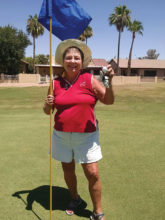 Congratulations to Marci Koppelmaa for her first hole-in-one, Sun Lakes Country Club, hole No. 5