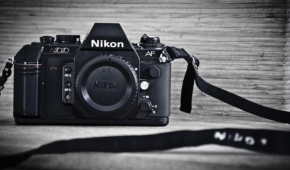 Nikon camera taken by Sun Lakes Camera Club