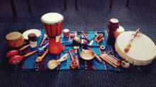 Drum Circle instruments