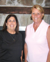 Left to right: Denise Fleshner and Deb Burns