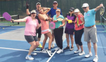 IronOaks Pickleball Club members