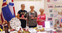 Scandinavian Club table at Sun Lakes Open Houses