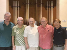 The Breakers Board of Directors (left to right): Joe Petkus, Ed Allen, Randy Bryan, Willie Foster and Larry Stadler
