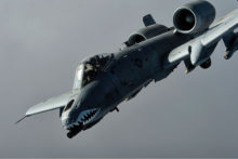 Phil Brewer will brief the Sun Lakes Aero Club gathering about his experiences flying the A-10 Thunderbolt II (pictured) and the A-7 Corsair II on Monday, March 18, at the Sun Lakes Country Club.