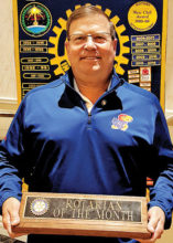 Chuck Deuth, Rotarian of the Month