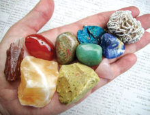Start your own rock collection, just like this.