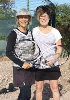 Women's Division II Champions Jeri Schultz & Terri Vasquez