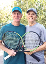 Warren Kutchyera and Bill Cunningham Men's Division I Champions