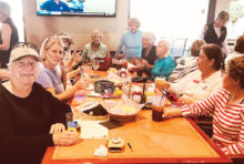 Après golf for the Ironwood Lady Niners