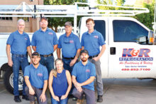 The K & R Refrigeration team