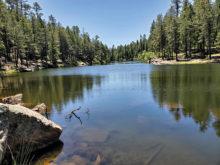 Woods Canyon Lake (photo by Stu Frost)