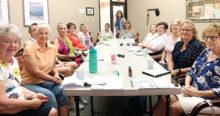 Left to right: Rosemary K., Linda B., Bernie H., Sandy W., Pat Mc., Julie A., Starla A., Gail E., Donna L., Patti C., Lee Ann B., Karen M., Deena B., and Kathryn P.