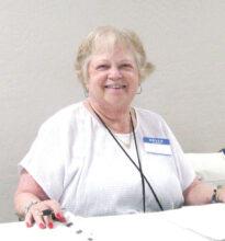 Judy McFarland, Secretary, 2019-2020