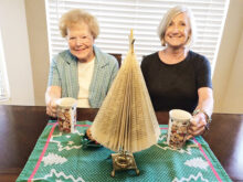 Margot Pierce and Sue Reynhout of P.E.O. Chapter DW