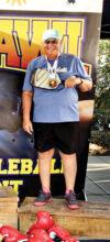 Jamie Noblit, Cottonwood, won the 4.0, 65-plus, Singles in the Fall Brawl in St. George, Utah.