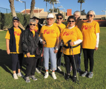 Fit and Fun members at the Sun Lakes Fun Walk